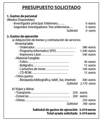 Colegio oficial de enfermer a de cantabria nuberos for Presupuesto para una pileta de material